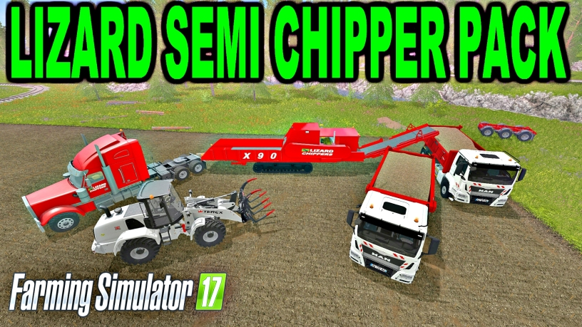 Woodmeadow Farm Modding Lizard Semi Chipper Pack Farming Simulator 17 Mods Youtube Channel
