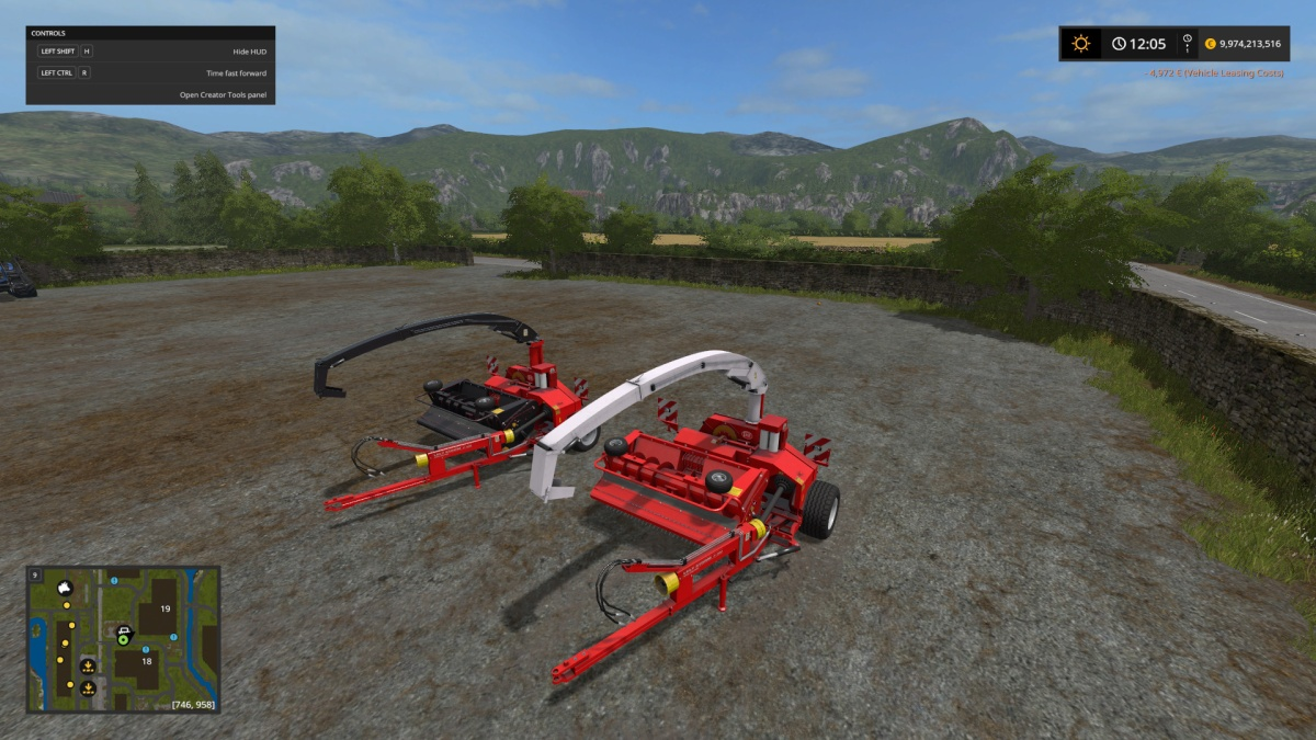 Lely P300 Silage Harvester 1 1 0 0 | Mods Magistrate's FileBase