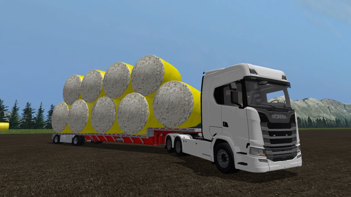 Cotton Bale Autoload Semi Trailer | Mods Magistrate's FileBase